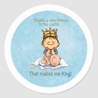 King of the house - Big Brother stickers