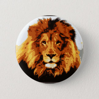 King of the jungle 2 inch round button
