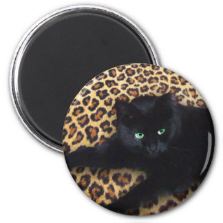 King of the Jungle 2 Inch Round Magnet
