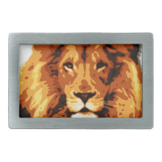 King of the jungle belt buckle