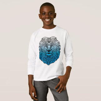 King of the Jungle, Blue Lion Boy's T-Shirt