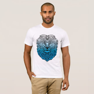 King of the Jungle, Blue Lion Men's T-Shirt