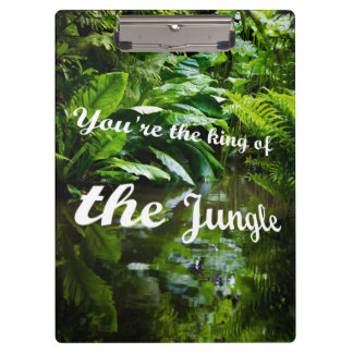 King of the jungle clipboard