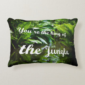 King of the jungle decorative pillow