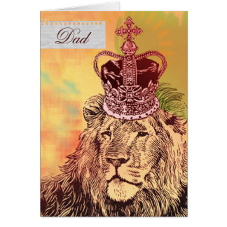 King of the Jungle     Father's Day Cards