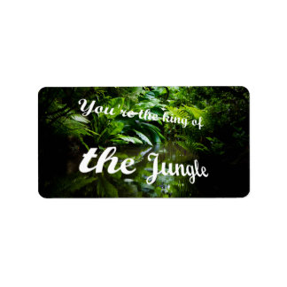 King of the jungle label