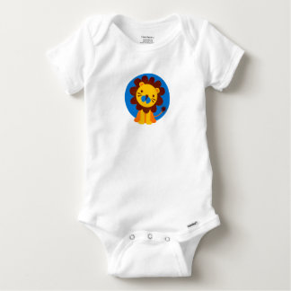 KING OF THE JUNGLE LION COTTON BABY OUTFIT BABY ONESIE