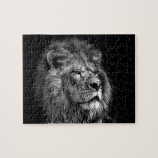 King of the Jungle- Lion Puzzle