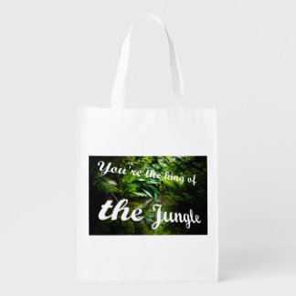 King of the jungle market totes
