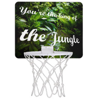 King of the jungle mini basketball backboard