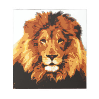 King of the jungle notepad