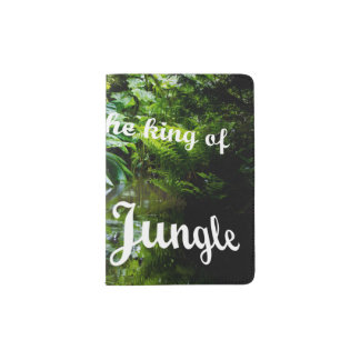 King of the jungle passport holder