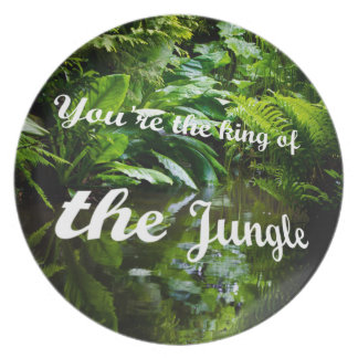 King of the jungle plate