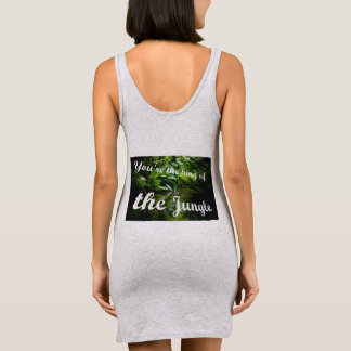 King of the jungle sleeveless dress