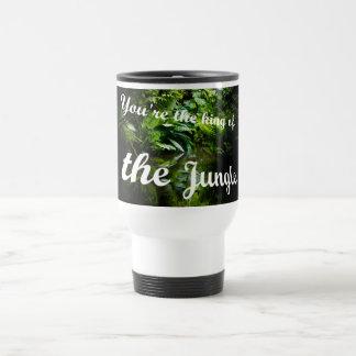 King of the jungle travel mug
