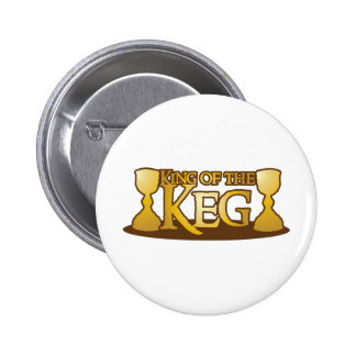 king of the keg pinback buttons