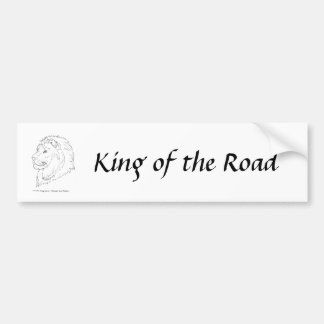 King of the Lions Bumper Sticker