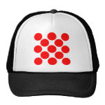 King of the Mountain dots Mesh Hat