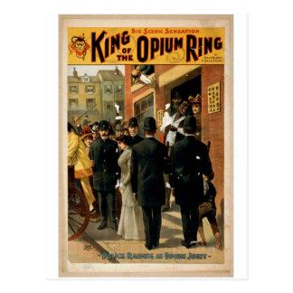 King of the Opium Ring Postcard