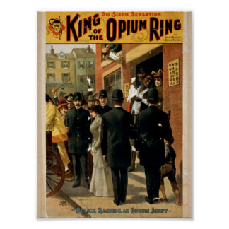 King of the Opium Ring Poster