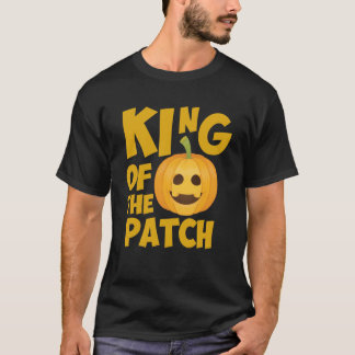 King of the Patch Pumpkin Halloween Graphic T-Shirt