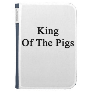 King Of The Pigs Kindle Folio Case