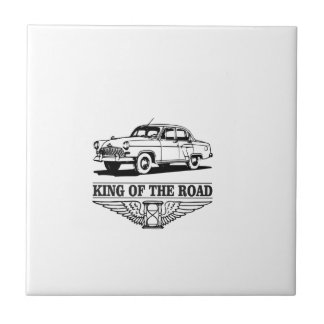 king of the road fun ceramic tiles