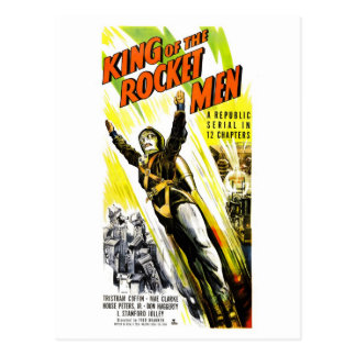 King of the Rocket Men Postcard