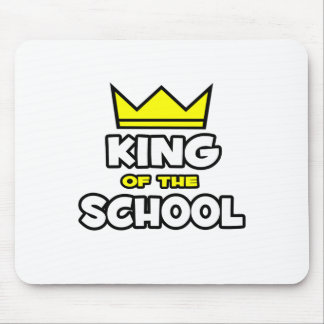 King of the School Mouse Pad