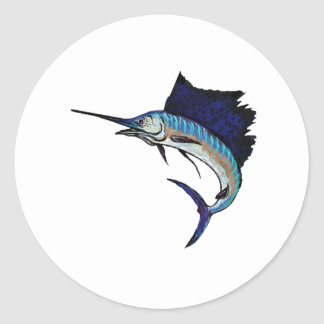 King of the Sea Classic Round Sticker