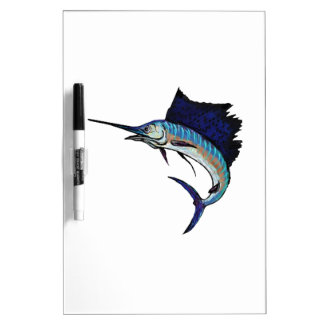 King of the Sea Dry Erase White Board