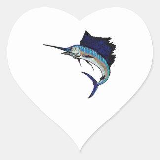 King of the Sea Heart Sticker
