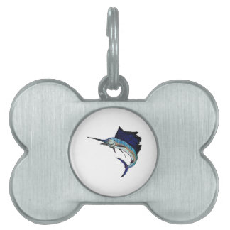 King of the Sea Pet ID Tag