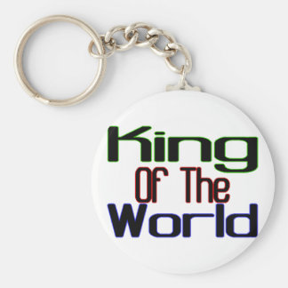 King Of The World Keychain
