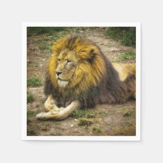 King of the Zoo Napkin