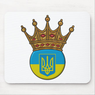 King Of Ukraine Mouse Pads