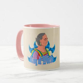 king of world mug