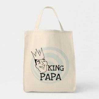King Papa T-shirts and Gifts Tote Bags