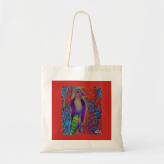 King Parrot Tote bag
