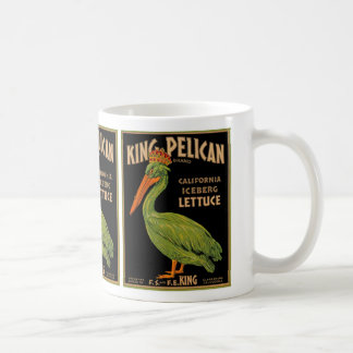 King Pelican Brand Lettuce Coffee Mug