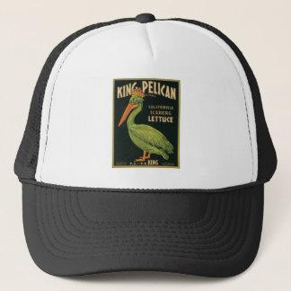 King Pelican Vintage Label Trucker Hat