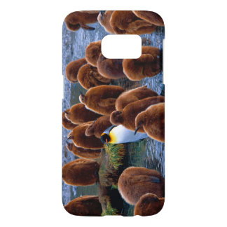 King Penguin and Chicks Samsung G7 Samsung Galaxy S7 Case