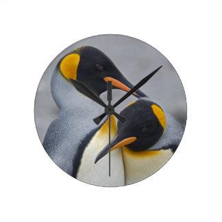 King Penguin Duet Clock