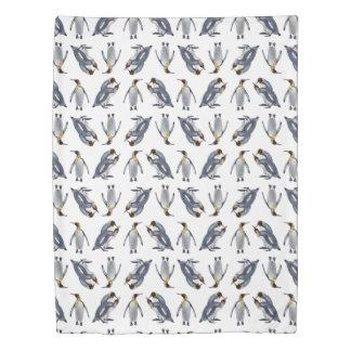 King Penguin Frenzy Duvet (choose colour)
