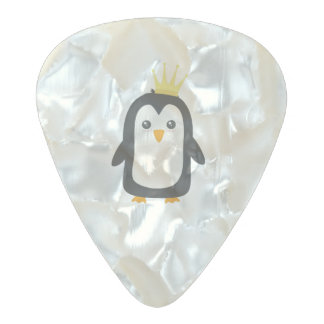 King Penguin Pearl Celluloid Guitar Pick