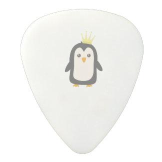 King Penguin Polycarbonate Guitar Pick