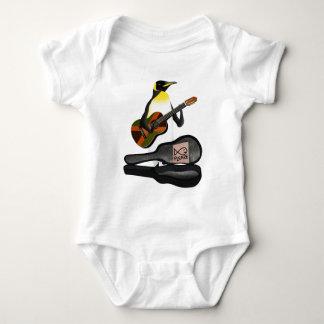 King Penguin Reggae Guitar Baby Bodysuit