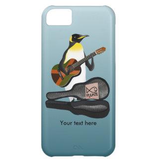 King Penguin Reggae Guitar iPhone 5C Cases