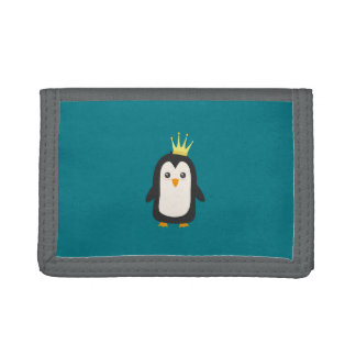 King Penguin Trifold Wallet