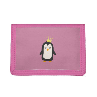 King Penguin Trifold Wallets